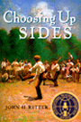 Choosing Up Sides bookcover, award-winning baseball book for kids