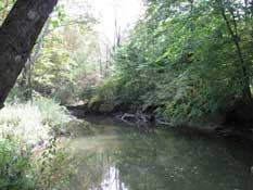 Chagrin River in Ohio