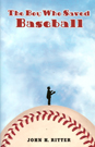 The Boy Who Saved Baseball pb bookcover, award-winning baseball book for kids